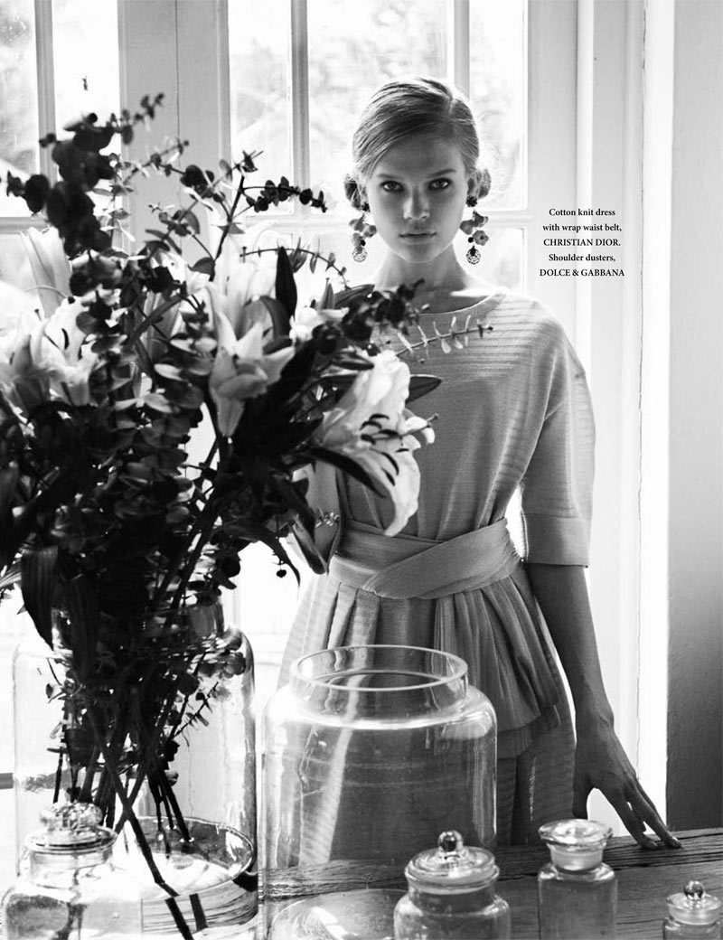 Vita Sidorkina by Wee Khim for L'Officiel Singapore March 2012