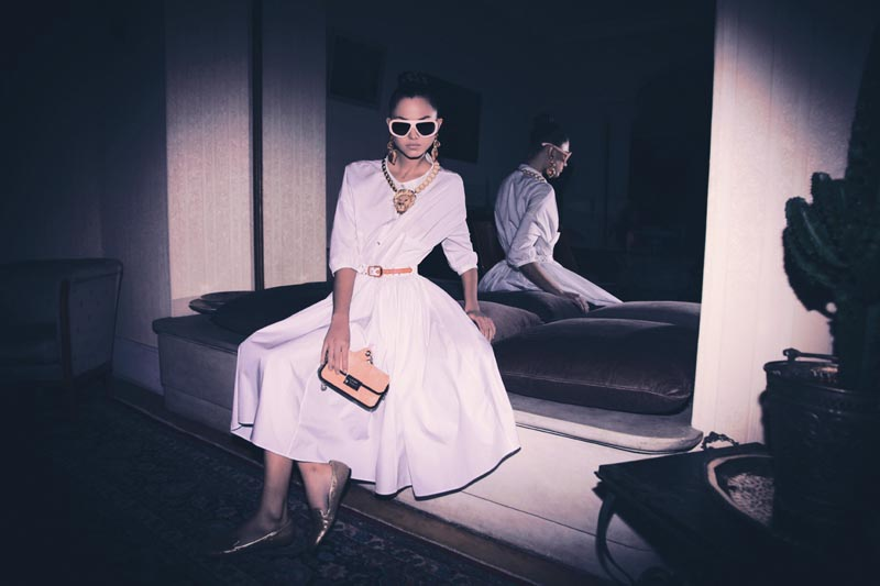 Martha Stempniak by Richard Bernardin for Please Magazine S/S 2012