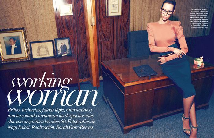 Alana Zimmer by Nagi Sakai for Vogue Latin America April 2012