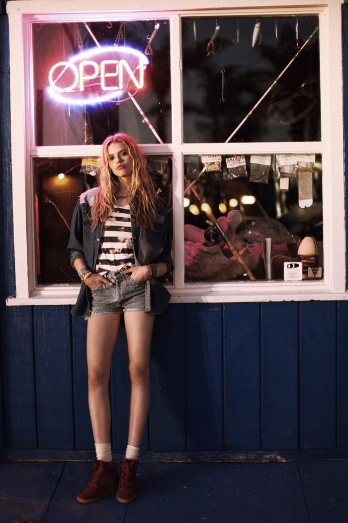 Hailey Clauson for LF Stores Spring 2012 Collection