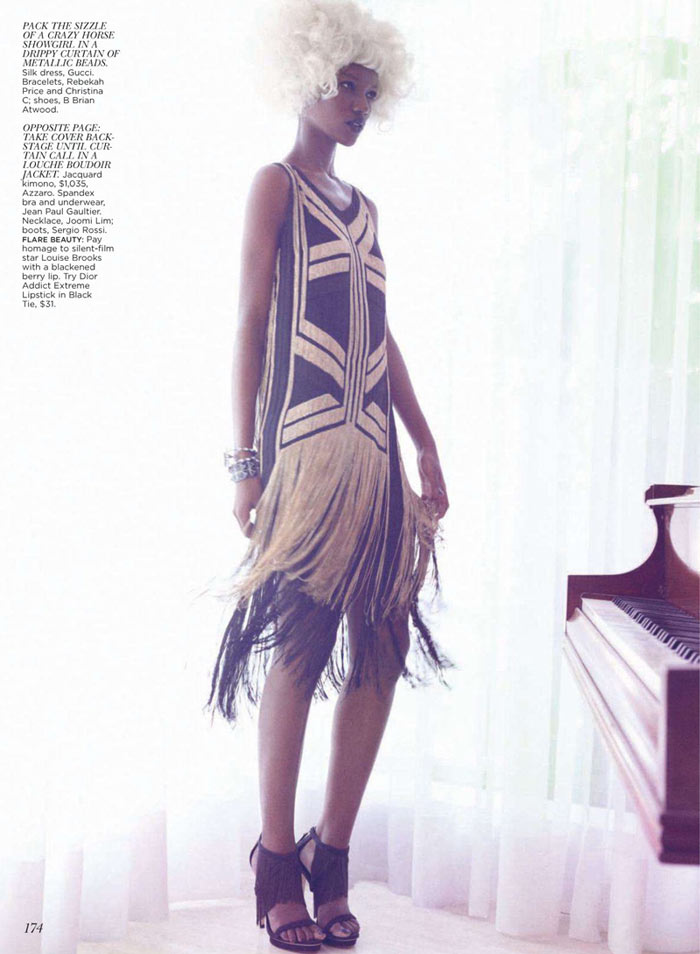Herieth Paul by Max Abadian for Flare April 2012