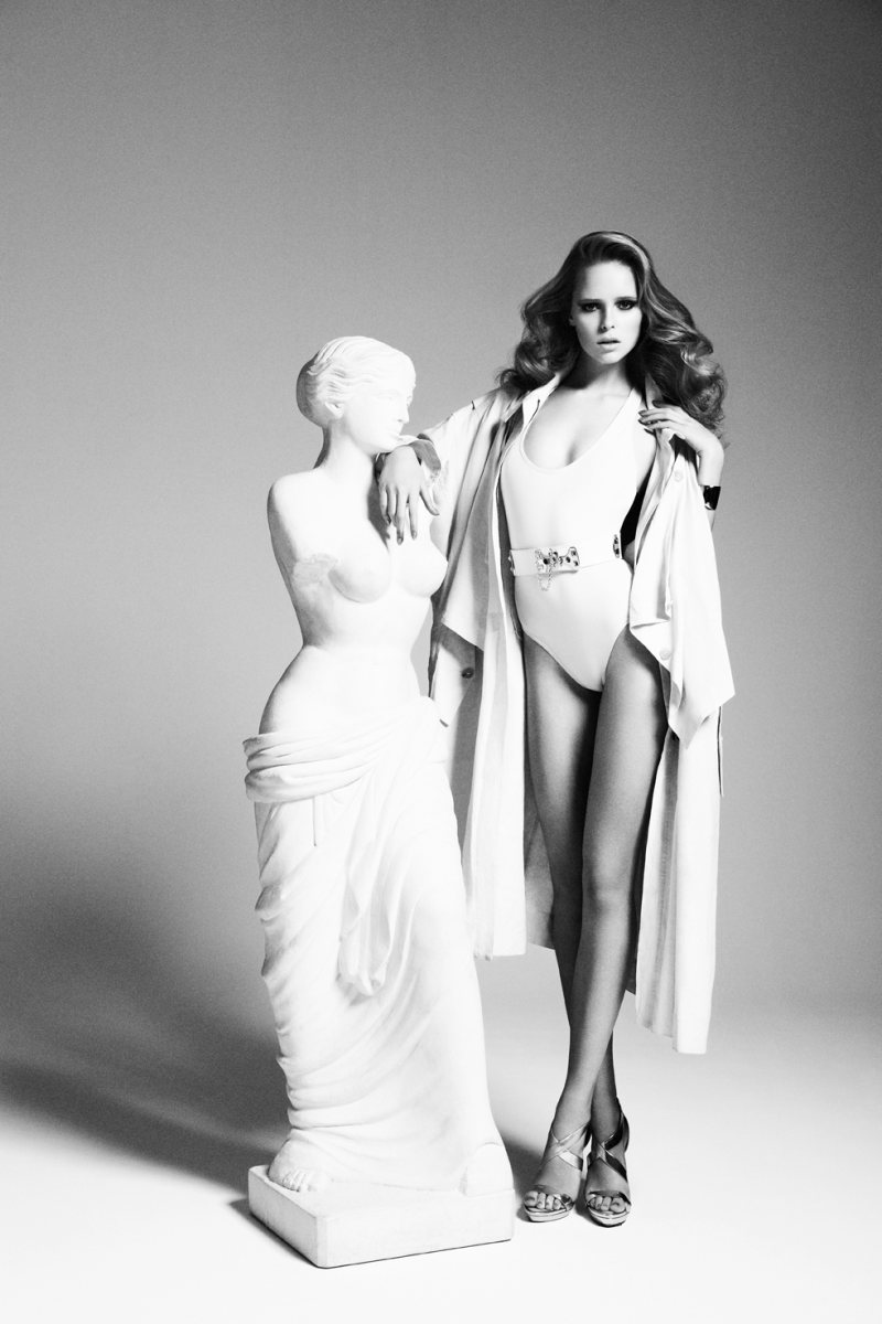 Masha Markina by Richard Bernardin for Dress to Kill Magazine Spring 2012