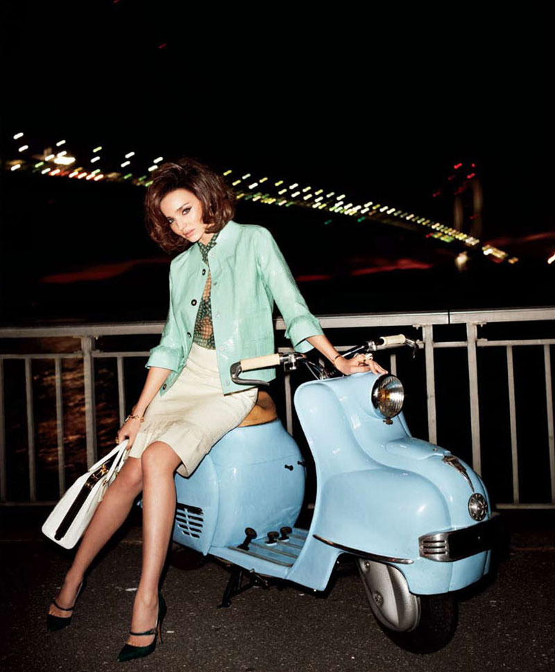 Miranda Kerr by Terry Richardson for Harper's Bazaar US April 2012