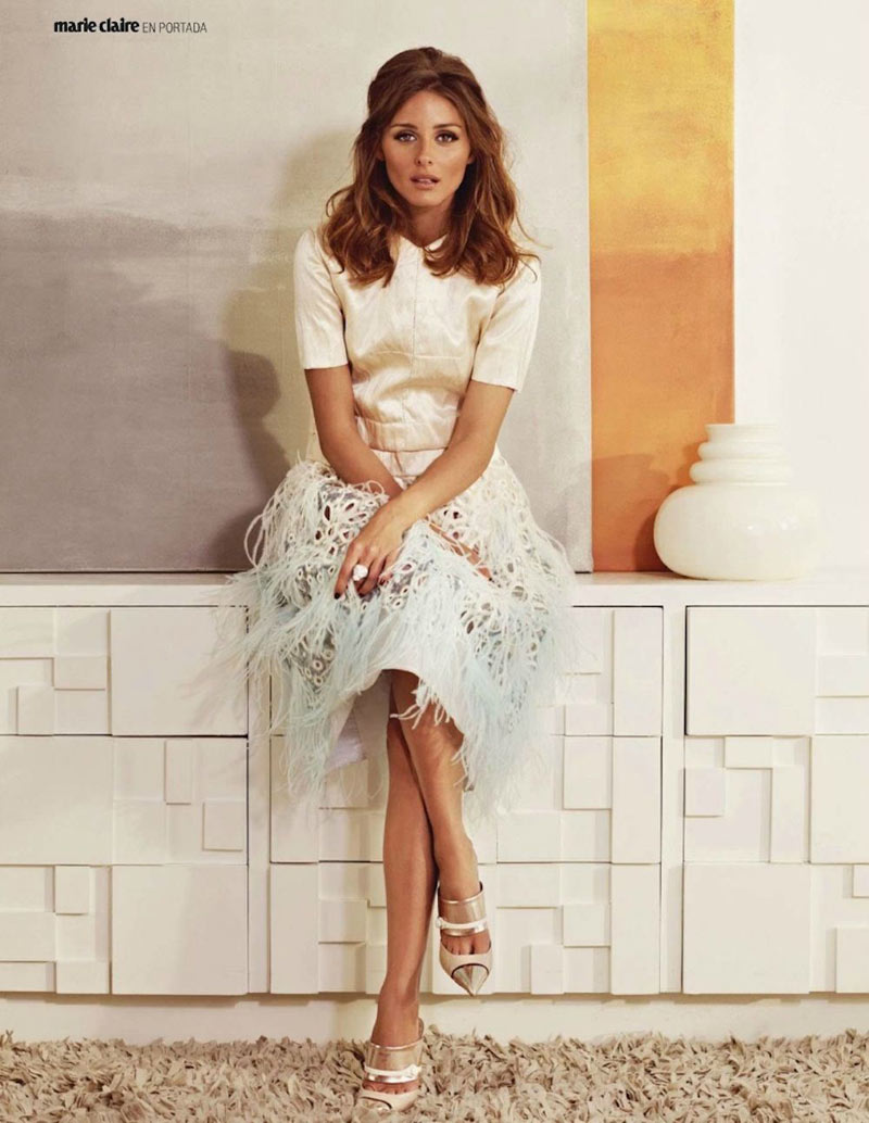 Olivia Palermo for Marie Claire Spain April 2012