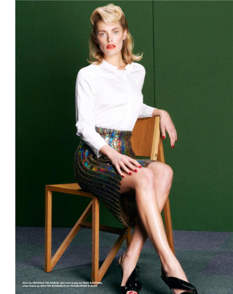 Leah de Wavrin by Thomas Lohr for Sleek Magazine