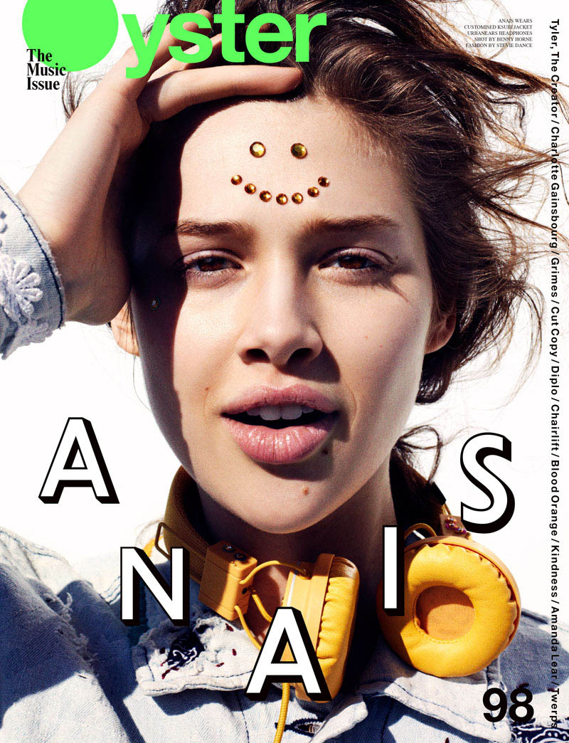 Anais Pouliot by Benny Horne for Oyster #98