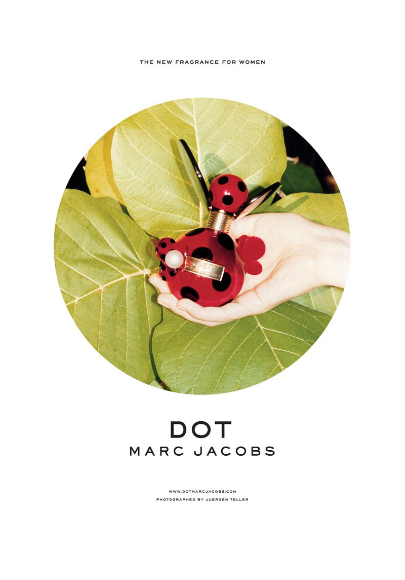 "Codie Young for Marc Jacobs ""Dot"" Fragrance Campaign by Juergen Teller"