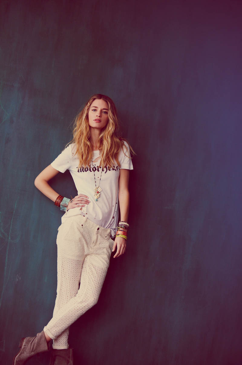 "Linda Vojtova for Free People ""Festival Fashion"" Lookbook by Ana Palma"