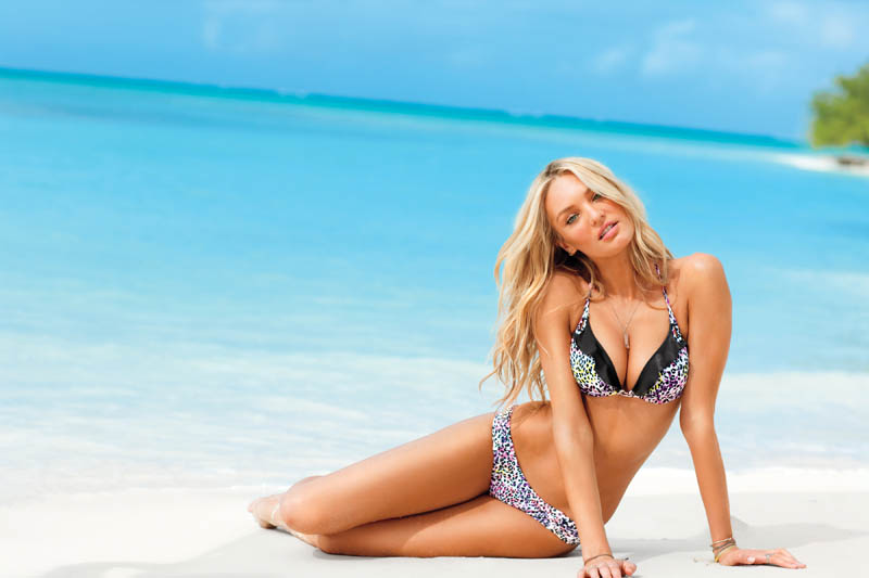 Candice Swanepoel, Adriana Lima & Jasmine Tookes for Victoria's Secret Swim 2012