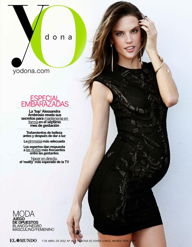 Alessandra Ambrosio by Ruben Vega for Yo Dona April 2012