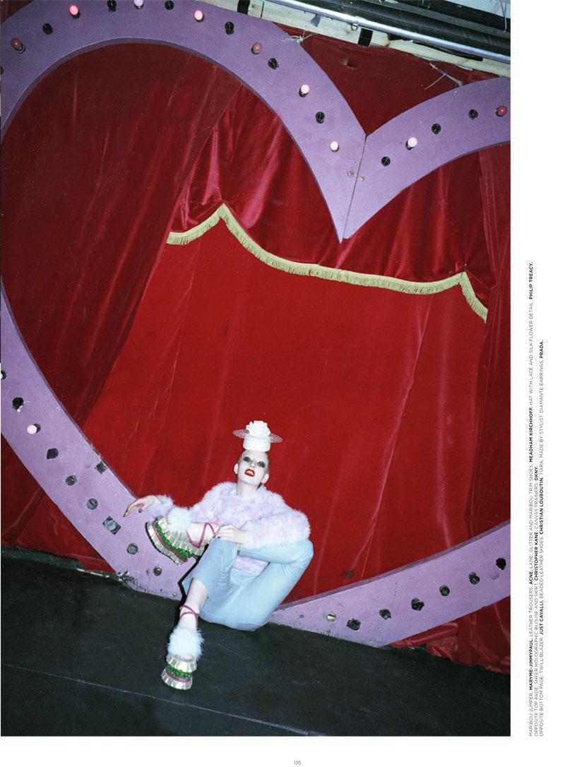 Billie Turnbull by Saga Sig for Please Magazine S/S 2012