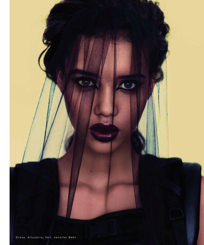 Chrishell Stubbs by Bon Duke for The Block Magazine S/S 2012