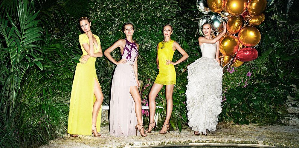 Constance Jablonski, Edita Vilkeviciute, Toni Garrn & Karmen Pedaru for H&M Conscious Campaign by Terry Richardson