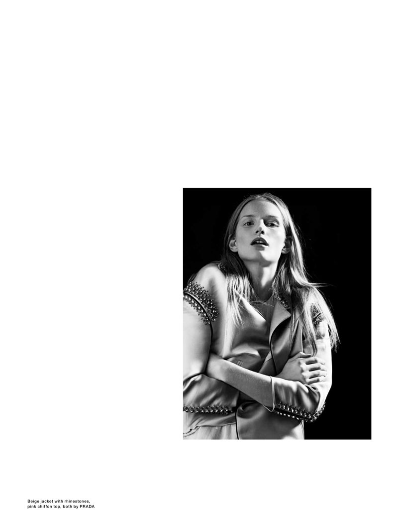 Katrin Thormann by Markus Pritzi for Sleek Magazine #33