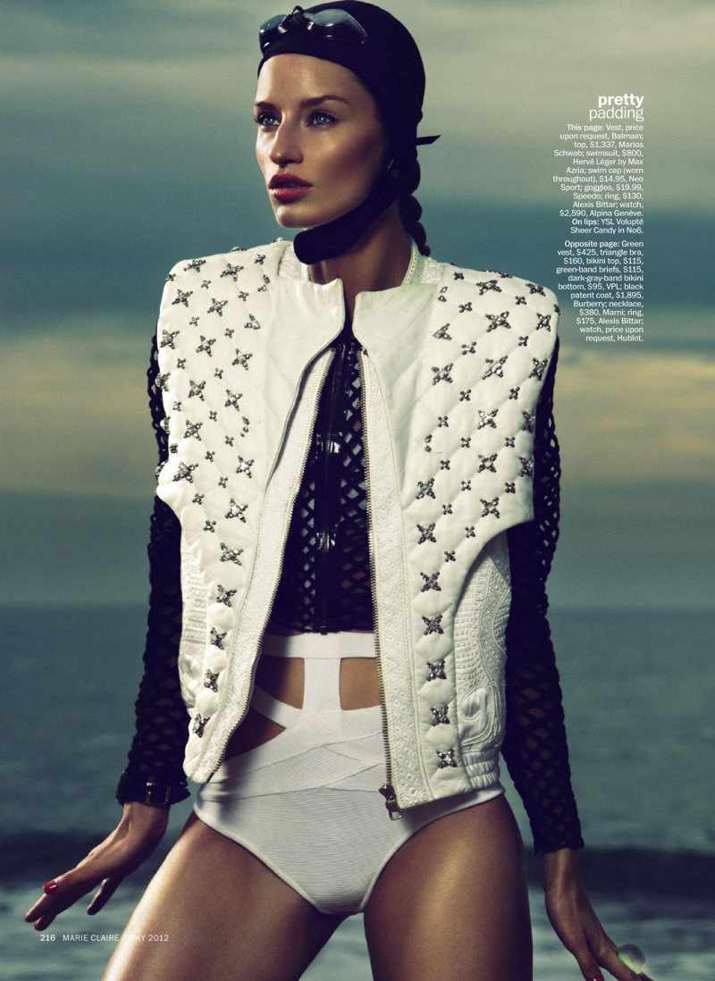 Linda Vojtova by Txema Yeste for Marie Claire US May 2012