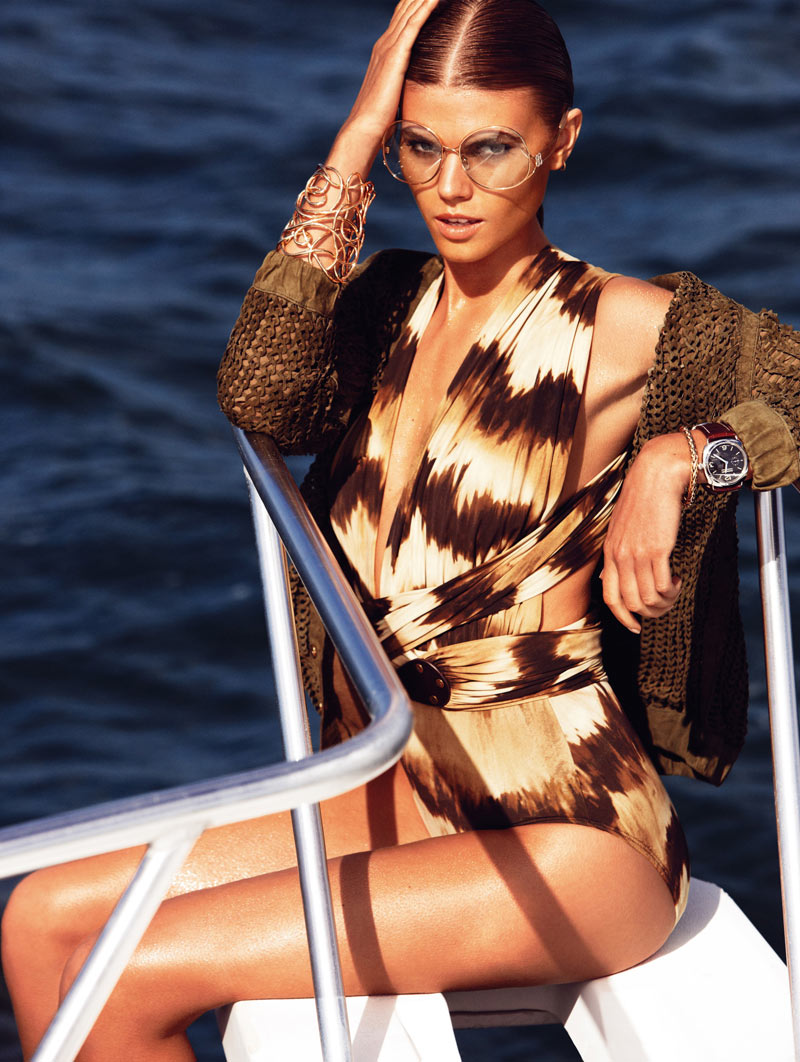 Maryna Linchuk by Alexi Lubomirski for Vogue Germany April 2012