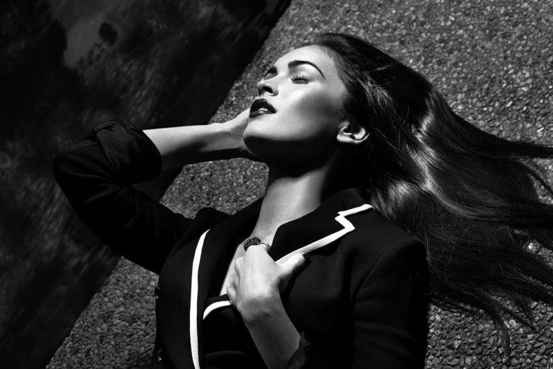 Megan Fox by David Roemer for Grazia France April 2012