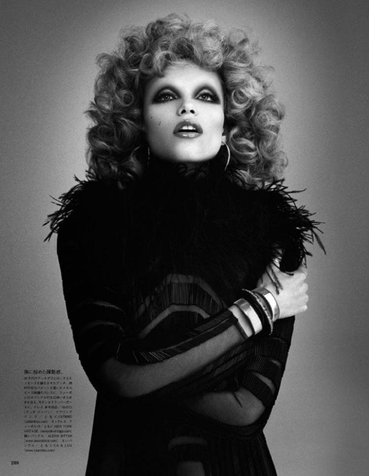 Natasha Poly by Daniele & Iango for Vogue Japan May 2012