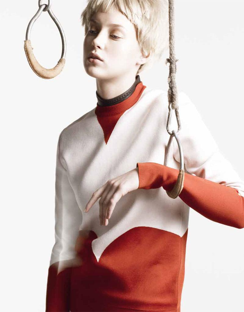 Merilin Perli by Stefan Heinrichs for Sleek Magazine #33