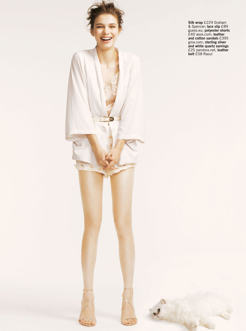 Iulia Carstea by Matthew Eades for Glamour UK May 2012