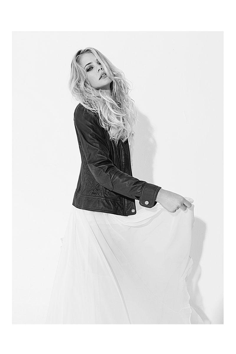 Tori Praver by Nacho Ricci for Harper's Bazaar Argentina