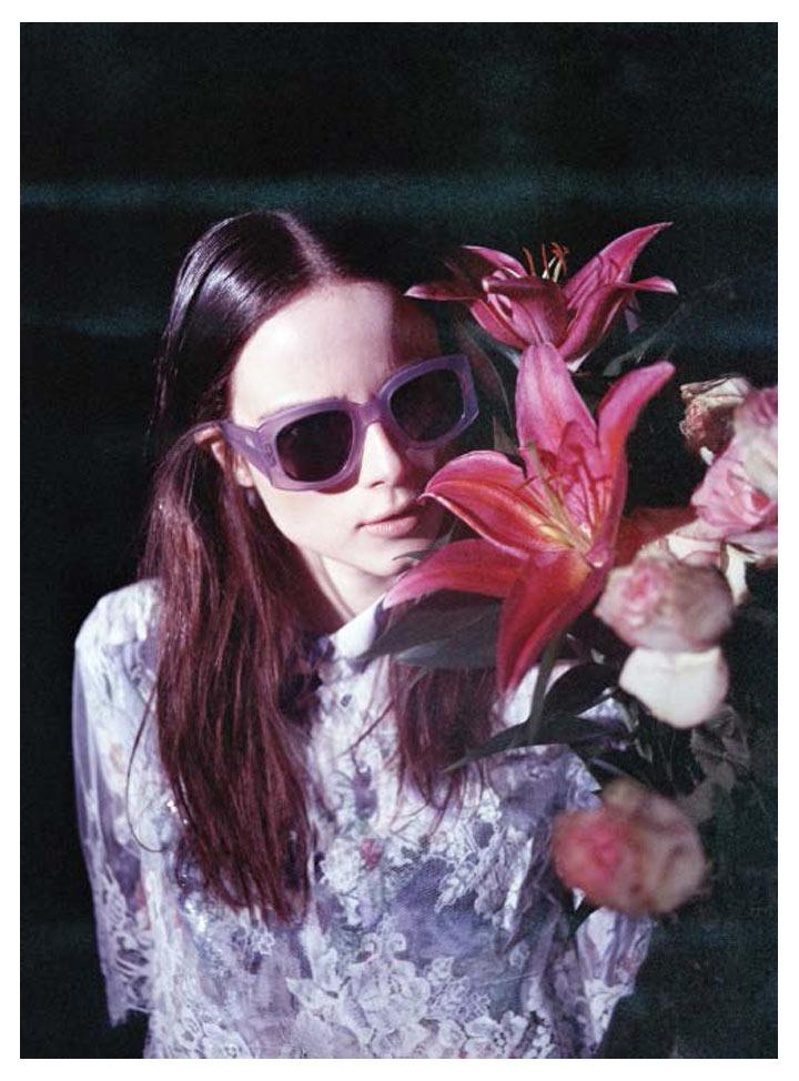 Anna de Rijk by Leon Mark for Rika Magazine S/S 2012