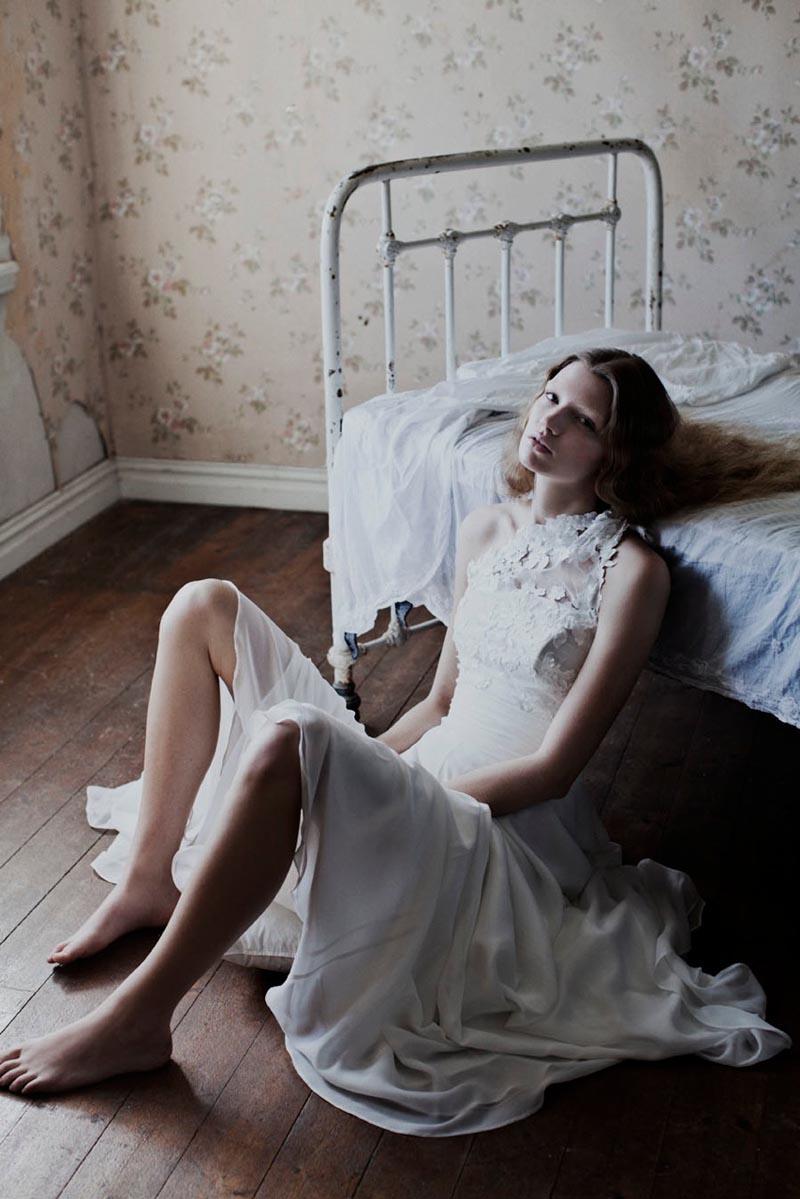 Anne-Sofie List for Jesper Høvring Spring 2012 Campaign by Katrine Rohrberg