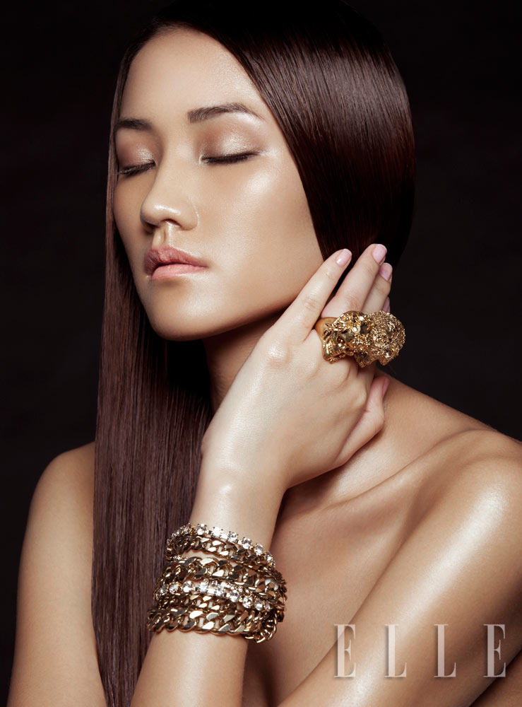 Maya by Zhang Jingna for Elle Vietnam May 2012