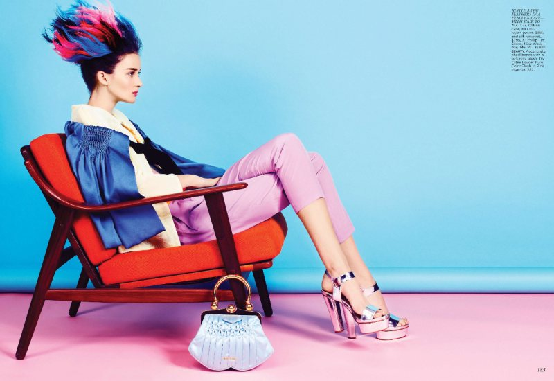 Eve by Max Abadian for Flare May 2012