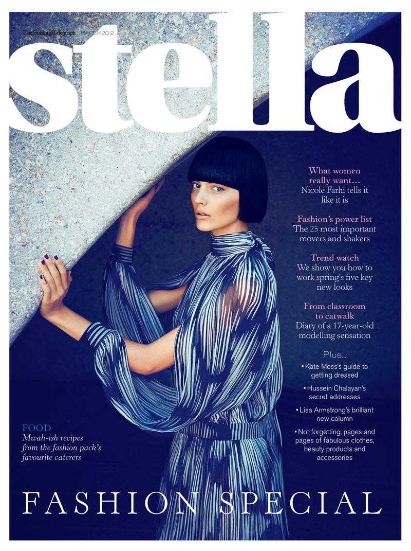 Katryn Kruger by James Meakin for Stella Magazine