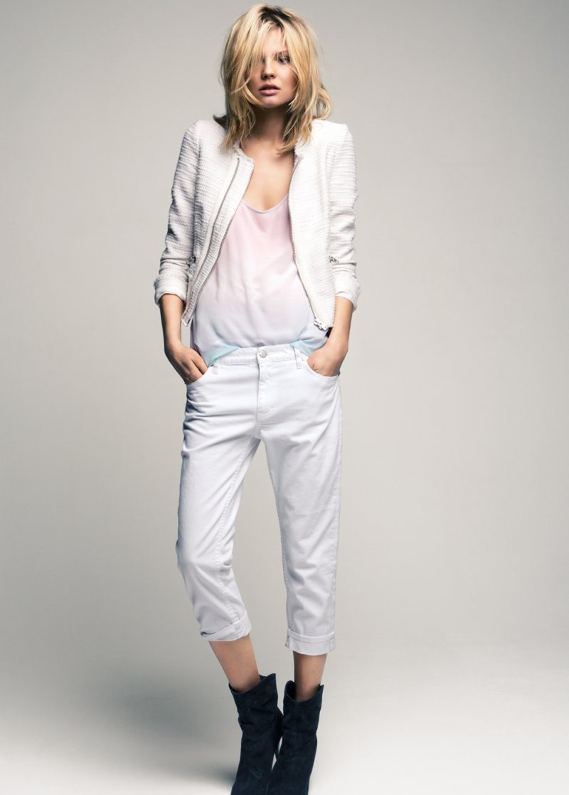 Magdalena Frackowiak for Mango Summer 2012 Collection