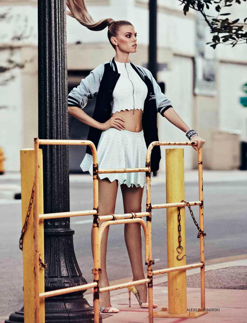 Maryna Linchuk by Alexi Lubomirski for Vogue Russia May 2012