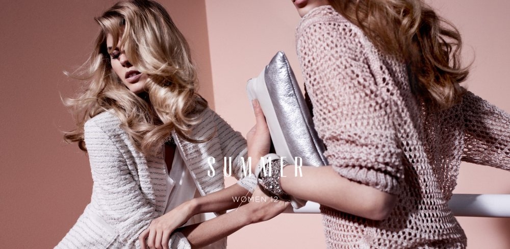 Maryna Linchuk & Monika Sawicka for Massimo Dutti Summer 2012 Campaign by Hunter & Gatti