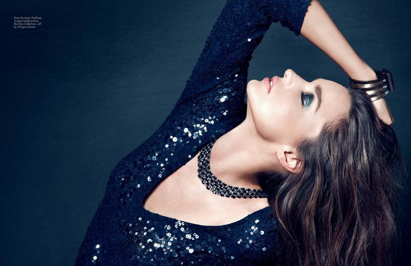 Miranda Kerr by Nino Muñoz for HauteMuse Magazine