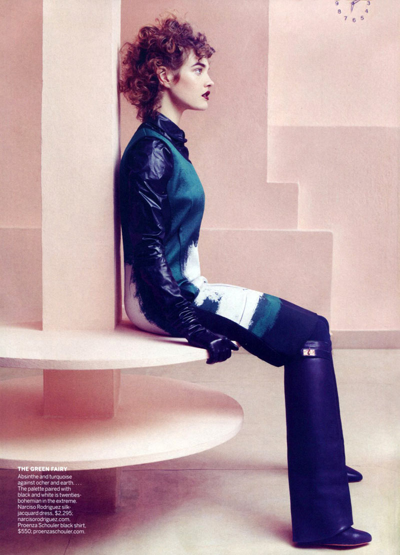Natalia Vodianova by Craig McDean for Vogue US May 2012