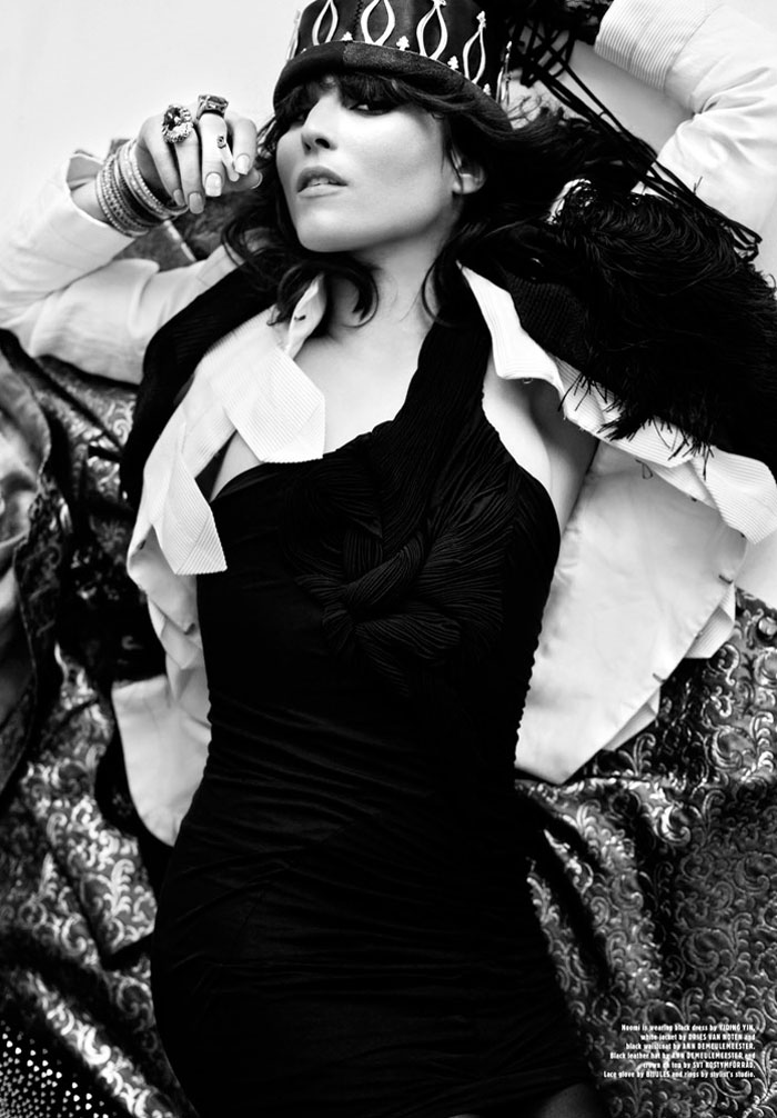 Noomi Rapace by Magnus Magnusson for Contributor Magazine #5