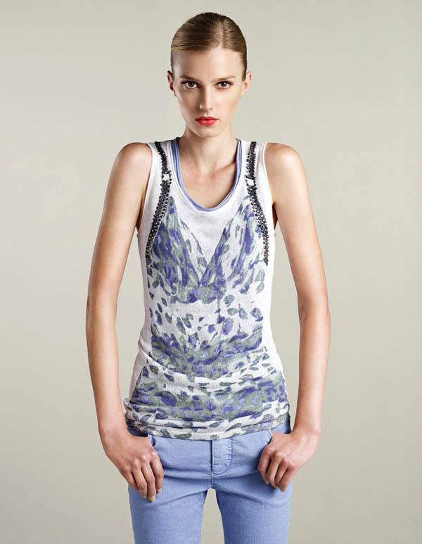 Sigrid Agren for Oui Spring 2012 Lookbook