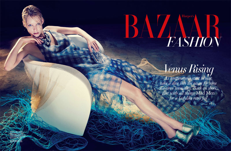 Irene by Gan for Harper's Bazaar Singapore May 2012