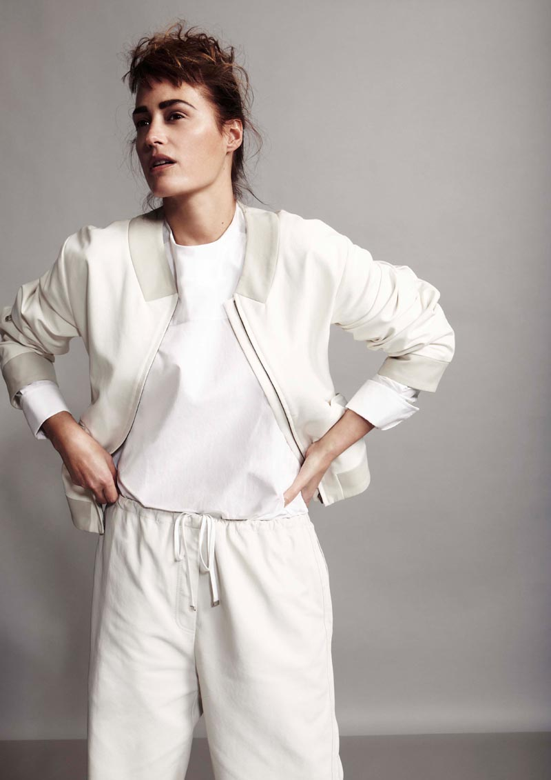 Yasmin le Bon by Robert Harper for Playing Fashion April 2012