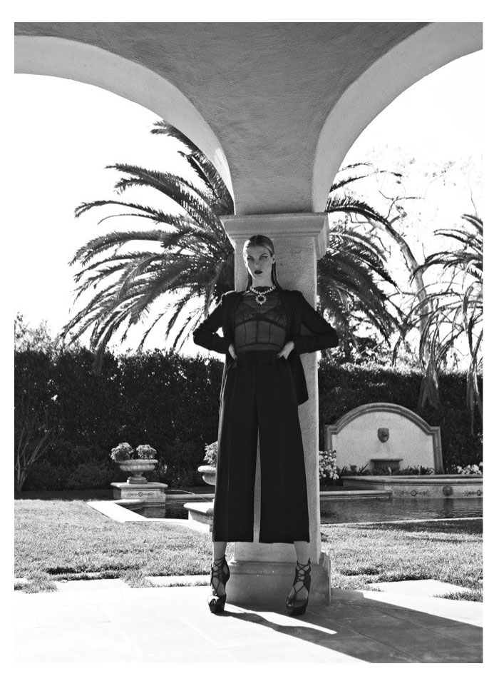 Angela Lindvall by Koray Birand for Harper's Bazaar Turkey May 2012