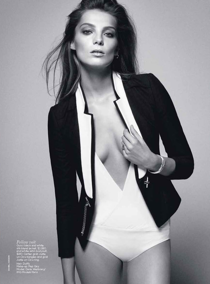 Daria Werbowy by Daniel Jackson for Vogue Australia June 2012
