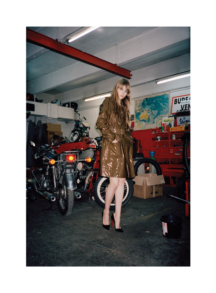 Edie Campbell by Ami Sioux for Rika Magazine S/S 2012