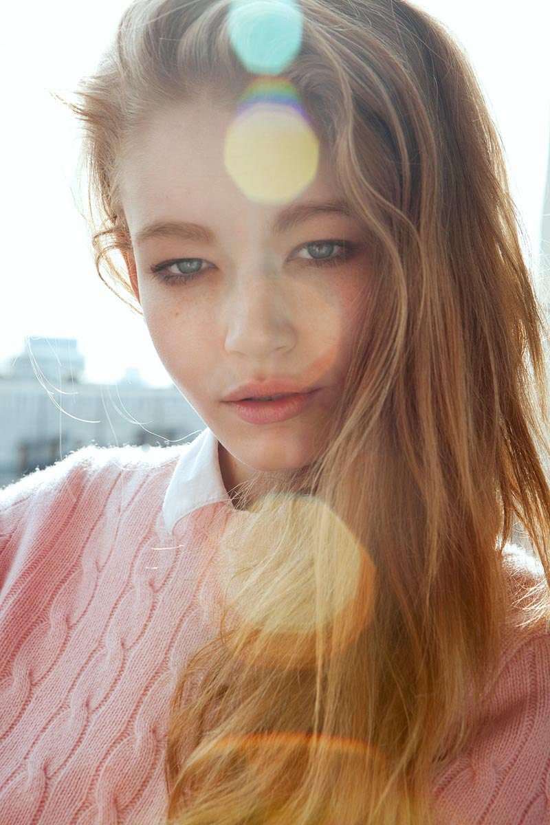 Fresh Face | Hollie-May Saker by Luc Coiffait