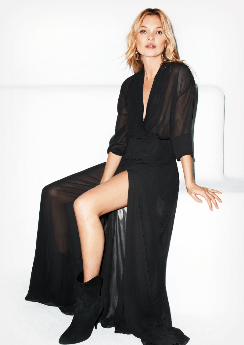 Kate Moss for Mango Summer 2012 Ad Campaign by Terry Richardson