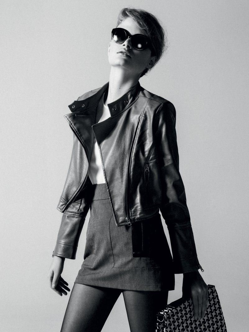 Nathalia Oliveira by Tavinho Costa for Elle Brazil April 2012