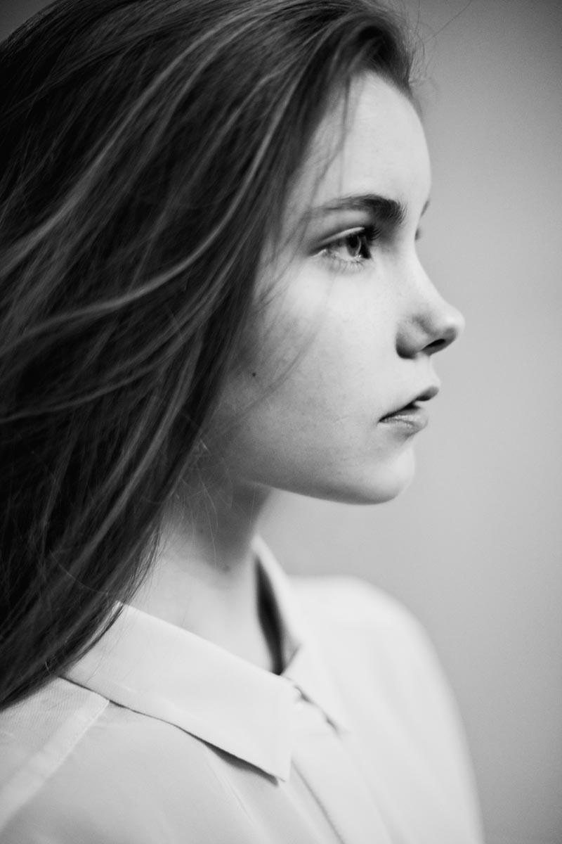 Fresh Face | Sanna R by Anton Östlund