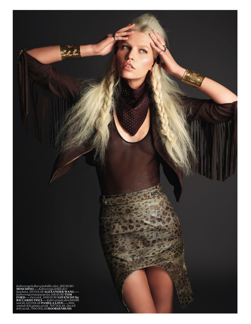 Aline Weber by David Vasiljevic for Vogue Turkey May 2012