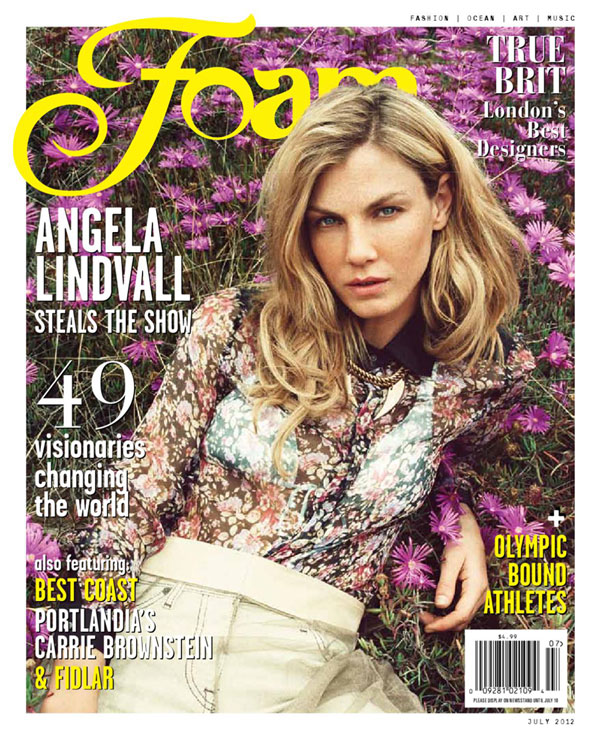 Angela Lindvall by Hilary Walsh for Foam Magazine July 2012