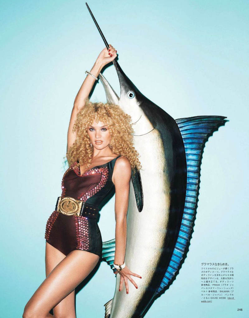 Candice Swanepoel by Terry Richardson for Vogue Japan June 2012