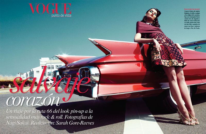 Crystal Renn by Nagi Sakai for Vogue Latin America May 2012